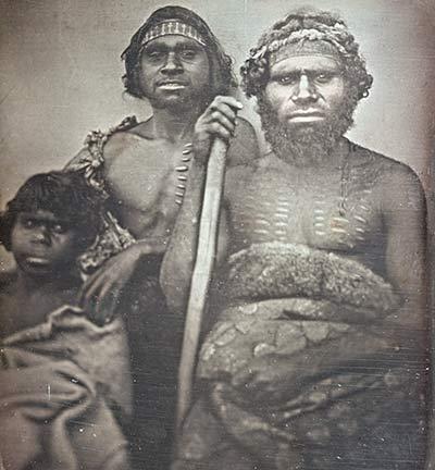 Aboriginal tribe members