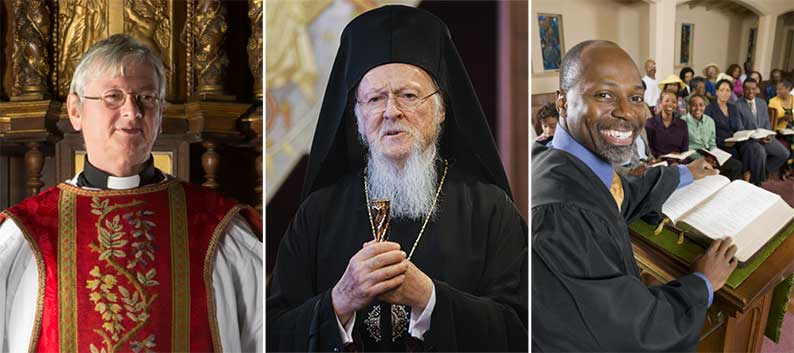 priest, orthodox patriarch and minister